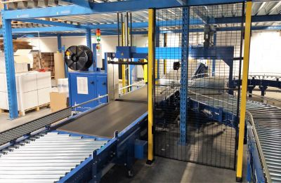 Automated conveyors systems for shipment and order processing